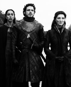 Talisa Maegyr, Catelyn & Robb Stark Game of Thrones S3