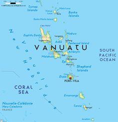 Vanuatu  Wikipedia the free encyclopedia  Oceania Map