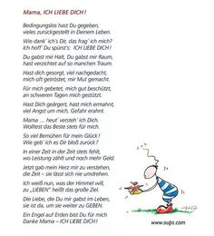 Ossi Mädels - Gedicht an Mutti