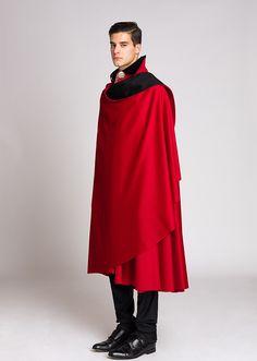 "Tabarro (Italian cloak) by Tabarrificio Veneto, model ""ambasciata"""