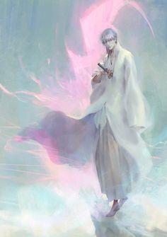 Gin Ichimaru by on DeviantArt Bleach Fanart, Bleach Manga, Gin Fizz, Shinigami, Bleach Characters, Anime Characters, Gin Tonic Recetas, Gin Bleach, Ichimaru Gin