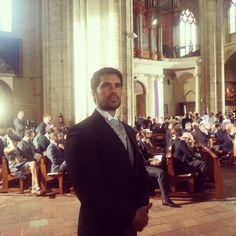 f233lix y claire de luxemburgo durante su boda religiosa en