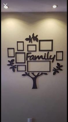 Family Tree With Pictures, Time Photo, Picture Frames, Gallery Wall, Home Decor, Craft, The Beach, Lyrics, Portrait Frames