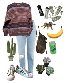"""6. Seven A.M."" by thatssokalea on Polyvore. #fashion #outfit #90sfashion #90s #grunge #tumblr"
