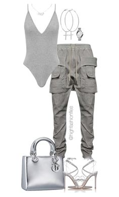 Untitled #2759 by highfashionfiles on Polyvore featuring polyvore, fashion, style, Gianvito Rossi, Kiki Minchin, Michael Kors, Christian Dior, DRKSHDW and clothing