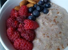 # Receitas de papas de aveia – Conceito FIT Breakfast And Brunch, Raspberry, Oatmeal, Nutrition, Fruit, Cake, Detox, Design, Healthy Recipes