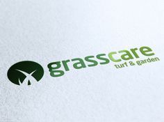 Grass Care Logo by Andreas Olymbios, via Behance