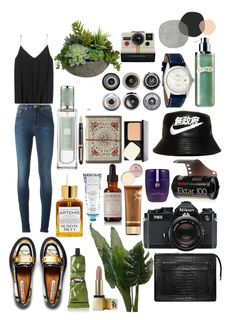 Photoshoooot by frsysm on Polyvore featuring polyvore, fashion, style, Acne Studios, Rolex, Bao bao wan, Bobbi Brown Cosmetics, Sunday Riley, Jo Malone, La Mer, Aurelia Probiotic Skincare, Josie Maran, Aesop, Tatcha, Umbra, Diane James, Ella Doran, Fountain, Nikon and Polaroid
