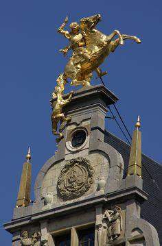 Antwerpen, Grote Markt, Sint-Joris-Gildehaus (guild house) | by HEN-Magonza