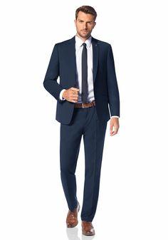 dolzer man blauer dreiteiler gentleman 39 s fashion. Black Bedroom Furniture Sets. Home Design Ideas