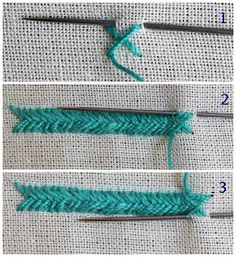 how to learn hand embroidery stitches Hand Embroidery Videos, Embroidery Stitches Tutorial, Hand Embroidery Flowers, Diy Embroidery, Embroidery Techniques, Embroidery Patterns, Border Embroidery Designs, Machine Embroidery Designs, Herringbone Stitch Tutorial