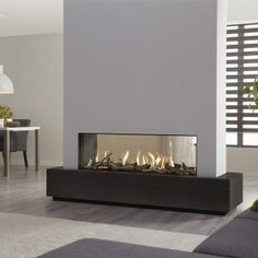 DRU Metro 130XT Tunnel Eco Wave Balanced Flue Gas Fire