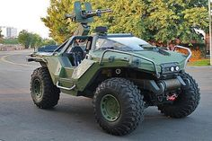 Seriously, who wouldn't want this? Real life Halo Warthog.