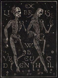 EX-LIBRIS † #exlibris #esoteric #symbolism #occult #esotericism #okkvlt #illustration #dark #darkness