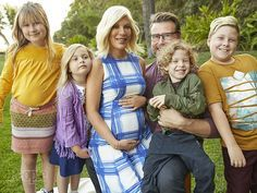 tori spelling pregnant dean mcdermott fifth child