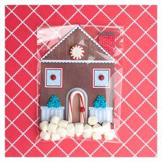 DIY Gingerbread Christmas Card