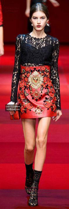 Dolce & Gabbana. Spring 2015. Ready-To-Wear.