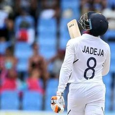 pictame webstagram fighting fifty gets India to 297 in the first innings of the Antigua Test 58 Run 112 ball 6 four THANK YOU SIR JADEJA ❤❤🙌✌ Test Cricket, Cricket Sport, Short Curly Styles, Bob Styles, Ravindra Jadeja, Curly Bob Hairstyles, Curly Hairstyle, Chennai Super Kings, Just A Game