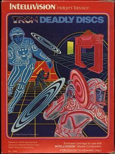 Tron deadly discs - one of my faves growing up