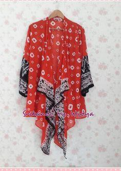 """simply outer palembang traditional cloth """"Jumputan """""""