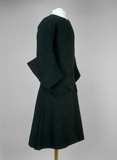 Mourning coat of Emperor Peter II of Russia (1715-1730) © The Moscow Kremlin Museums