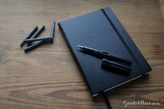 All the basics for bullet journaling in this sleek black package set