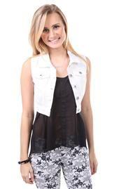 OMG Sale   DebShops.com Deb Shops, Vest, Rompers, Denim, Cloths, Jackets, Color, Tops, Dresses
