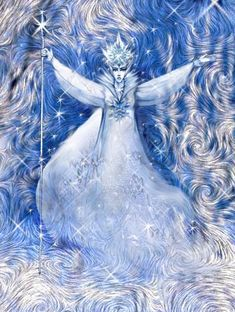 Снежная Королева (528x700, 124Kb) Snow Queen, Ice Queen, Snow Elf, Andersen's Fairy Tales, Queen Aesthetic, Snow Maiden, Classic Fairy Tales, Goddess Art, Fairytale Art