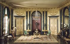 The Thorne Miniature Rooms at the Art Institute of Chicago - truly amazing.