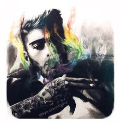 @zaynmalik zayn look at this sick art (I hope you will follow me soon)