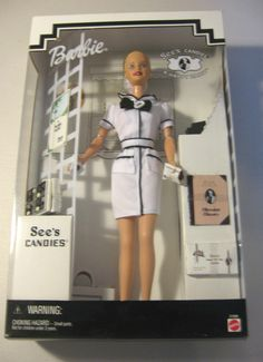 SEE'S CANDIES BARBIE, SALESPERSON. 1999. NEW IN BOX #MATTEL. I have this one...never opened