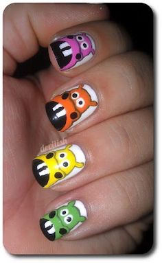 Hungry Hungry Hippo Nails