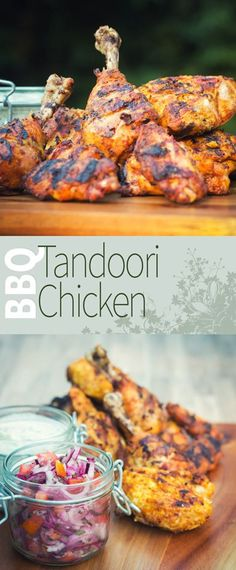 Spicy BBQ Tandoori Chicken