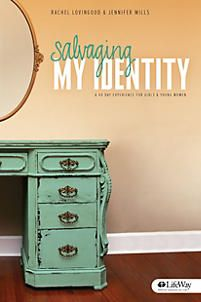 Salvaging My Identity. Available at LifeWay. Highly recommend for teens, college, and young adult girls, haven't read it. Young Adult Ministry, Youth Ministry, Ministry Ideas, Small Group Bible Studies, Group Study, Girls Bible, Identity In Christ, Bible Lessons, Book Authors