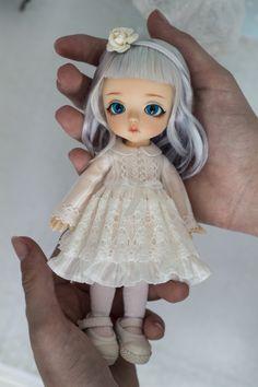 Crochet Doll Clothes, Knitted Dolls, Felt Dolls, Bjd Dolls, Barbie Dolls, Cute Baby Dolls, Cute Babies, Anime Scenery Wallpaper, Dress Up Dolls