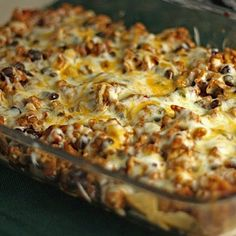 Taco Casserole Recipe | Key Ingredient