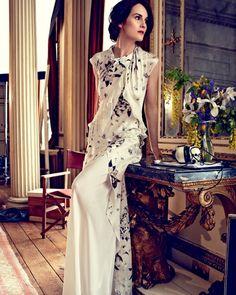 Michelle Dockery - Harper's Bazaar UK August 2014