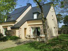 Comfortabel, geschakeld vakantiehuis op 700 m van strand in cultuurrijk Bretagne