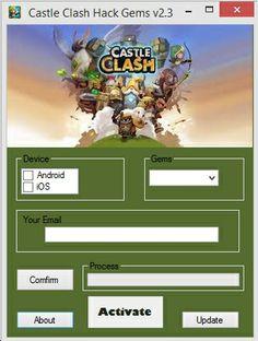 Castle Clash Gems - Castle Clash Hack Tool
