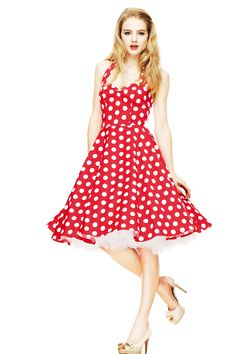 "hell bunny dress ""Merjam"" red"