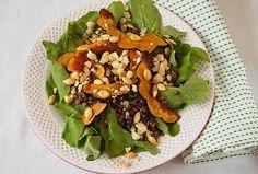 Acorn Squash and Lentil Salad