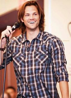 They seriously need to let Jared smile more because this man's smile just lights up a friggin room