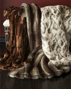 Shop Faux-Fur Coverlets from Sweet Dreams at Horchow, where you'll find new lower shipping on hundreds of home furnishings and gifts. Faux Fur Rug, Faux Fur Throw, Animal Print Furniture, Master Bedroom Interior, Bedding Inspiration, Fur Pillow, Fur Blanket, Warm Blankets, Home Decor Accessories