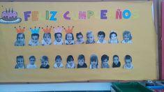 Mi aula infantil Anika Montessori, Ideas Para, Anika, Education, Frame, Cricut, Facebook, Classroom Birthday, Classroom Displays