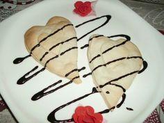 Cuori di ricotta e cioccolato.... ricetta su ortodellafantasia.com