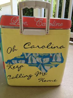 Step by Step Incredibly Detailed Instructions for Painting a Scratch-Proof, Personalized Cooler | Life in Pines