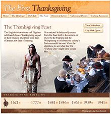 Thanksgiving Lessons for Grades 3-5. With Common Core-aligned lessons and activities, take a closer look at the Pilgrims' voyage, settlement, and first harvest celebration.