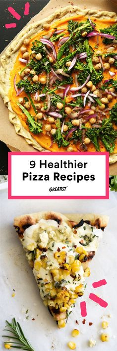 You wont find these on a takeout menu. #healthy #pizza #recipes http://greatist.com/eat/healthier-pizza-recipes-better-than-delivery