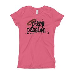 Pure Passion Tee - Girls (Youth)