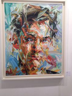 Paul Wright - Big Blue Collar Paul Wright, Geometric Patterns, Impressionist, Cool Art, Faces, Cool Stuff, Architecture, Random, Drawings